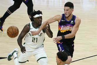 NBA總冠軍戰》保羅與戴文布克聯手 太陽擊潰公鹿拔頭籌