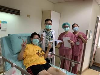 台中光田醫院搶救新北重症婦 康復返家盼迎小孫女出生