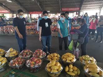 這樣買農民感受最深 台南民代至青果市場掃貨4000斤