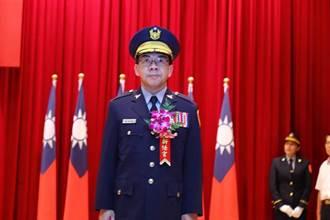 中市警察局長楊源明傳接北市 遺缺由副署長蔡蒼柏接任
