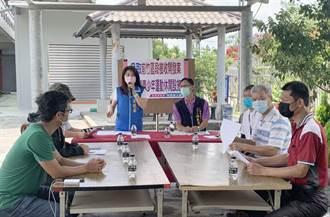 中市前竹開發案未規劃運動場地 議員吳瓊華會勘爭取