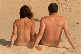 夫妻飛到最自由城市度蜜月 全裸無罩逛街不怕病毒