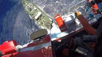漁船船員花蓮外海不適 空勤總隊海巡同步救援吊掛送醫