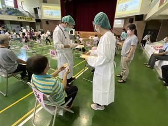 台中累計28萬2千人次接種疫苗 覆蓋率達1成