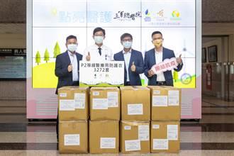 三總獲光電業者暖捐後援 逾3千組醫療用防護衣鞋挺醫護