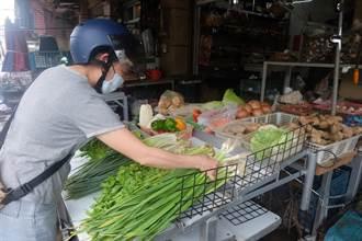 雨後延遲性災損菜少價高 數種菜飆破百元
