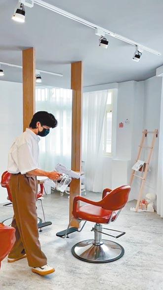 髮廊業績回溫3成落實消毒與分流
