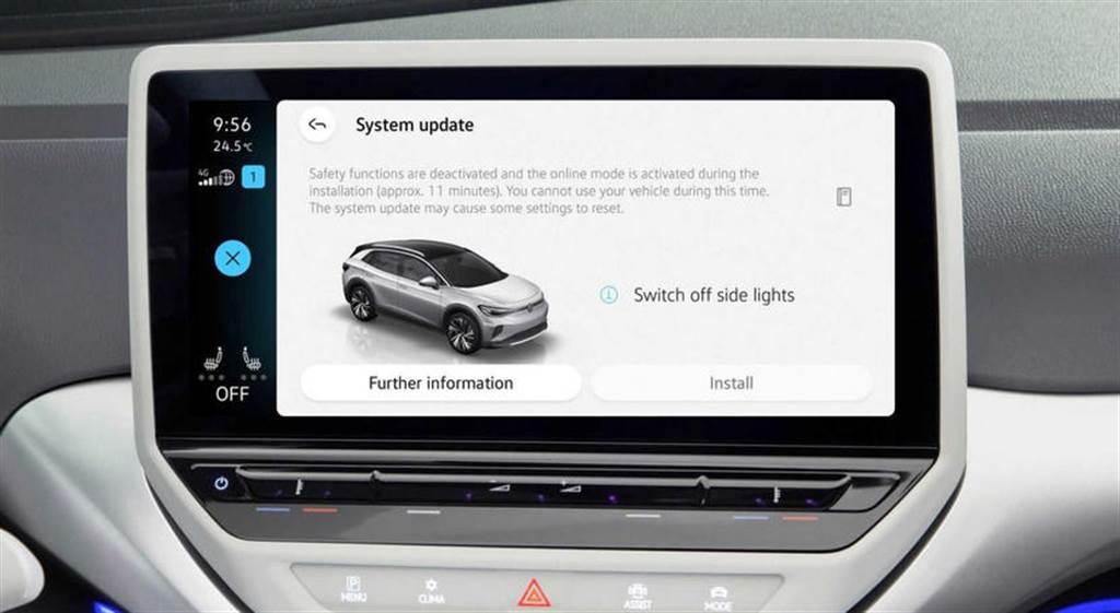 七月釋出首波 OTA 更新!福斯 ID 系列電動車的系統操作介面與性能即將優化