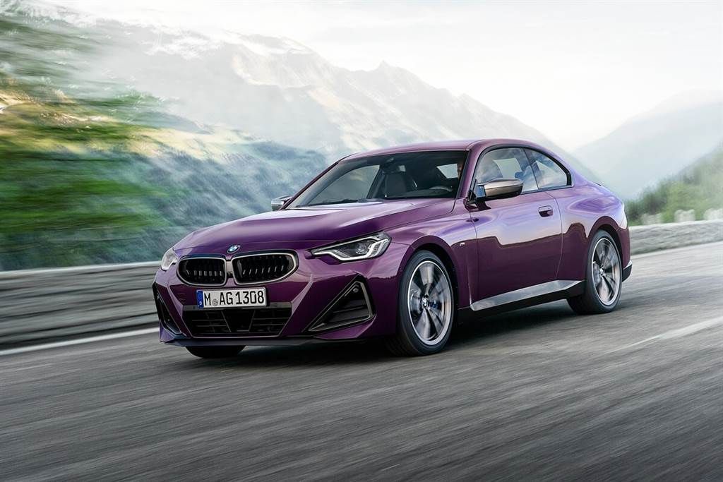 BMW全新世代2 Series Coupe亮相!預計2022年初投放市場