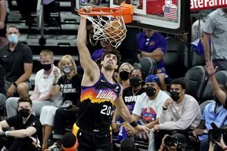 NBA》太陽驚傳噩耗 薩瑞奇右膝韌帶撕裂報銷