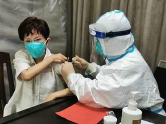 洪秀柱赴浙江接種疫苗 盛讚大陸嚴密防疫下機已6次篩檢