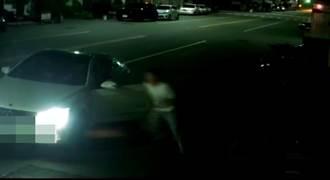 疑修車欠款 台中5惡煞攔車打人
