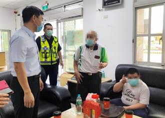 唐寶寶想上學半途路倒被警送回家 校方、家屬送防疫物資感謝