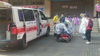 7旬男子打莫德納身體不適 急送基隆醫院救治