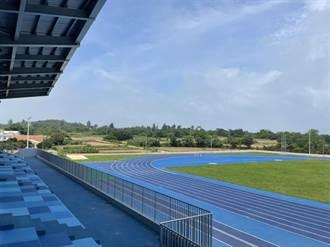 小金門新亮點  全島首座國際標準運動場誕生