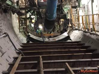 捷運萬大中和線 新北境內第一條潛盾隧道貫通