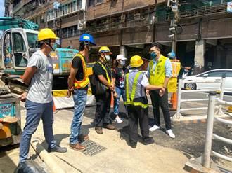 擺脫爛路王稱號 基隆祥豐街工程預計7月底完工