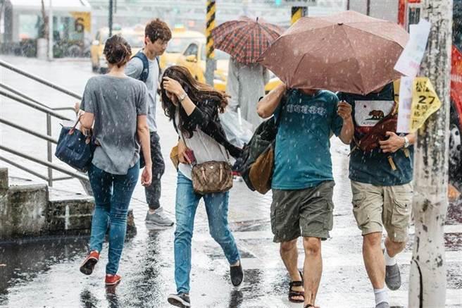未來一周都是午後雷雨的天氣。(資料照)