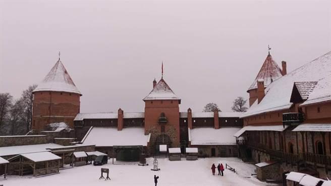 立陶宛 特拉凱城堡。(KLOOK提供/黃慧雯台北傳真)