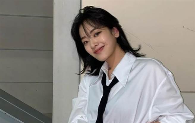 南韓女星李周映素顏被黑粉酸。(圖/IG@i_icaruswalks)