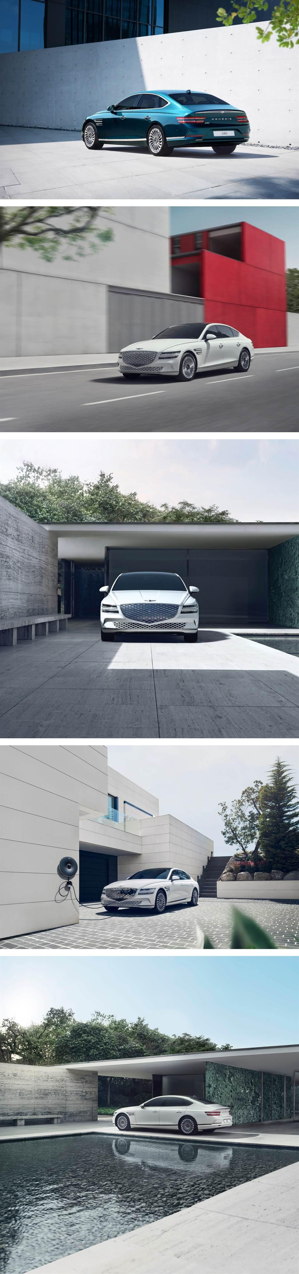 最大續航力 500km 以上、完美結合「運動優雅」GENESIS Electrified G80 韓國率先發售!