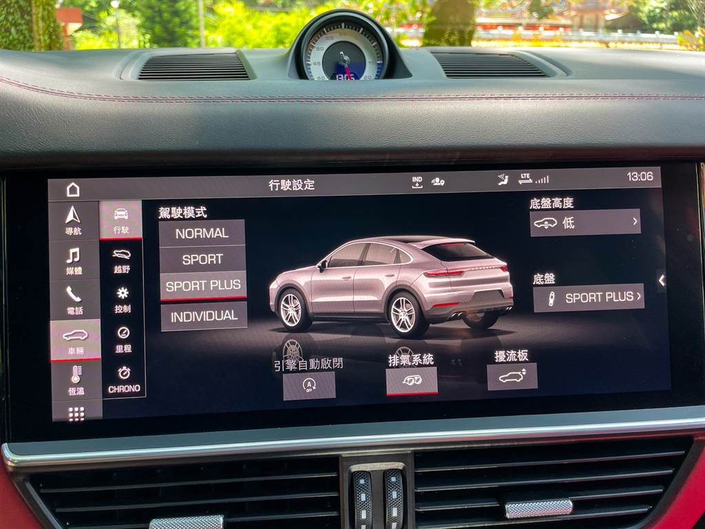 多種駕駛模式的選擇搭配高低、軟硬皆可調的懸吊,正是Cayenne GTS Coupe文武雙全的關鍵。