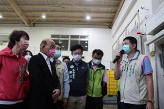台南冷鏈物流中心5.6億經費 蘇貞昌允諾補助