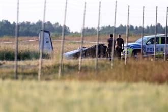 載高空跳傘玩家 瑞典飛機墜毀9人罹難
