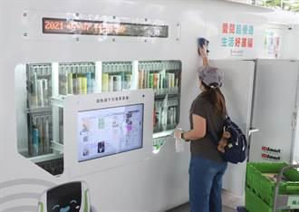 仿微型圖書館 捷運站設借還書站超方便