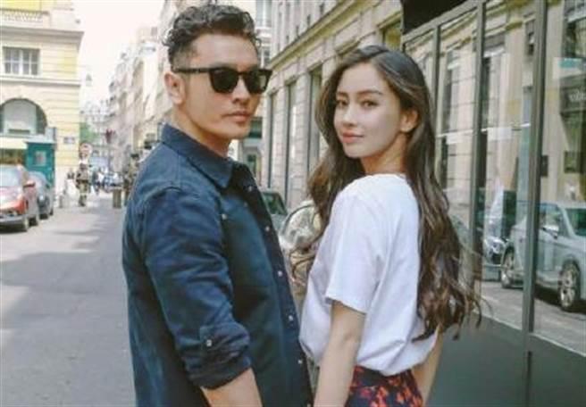 Angelababy和黃曉明結婚多年,近年來卻婚變頻傳。(圖/翻攝自微博)