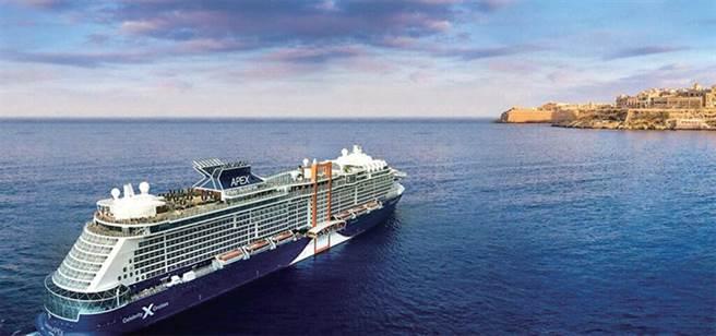 ▲至極號( Celebrity APEX) 從7月推出的東地中海航程。 圖:名人遊輪/提供
