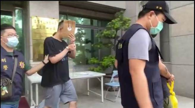 涉嫌和台北女網友嗑藥做愛,導致女方猝死的宋姓男子被警方移送法辦。(石秀華攝)