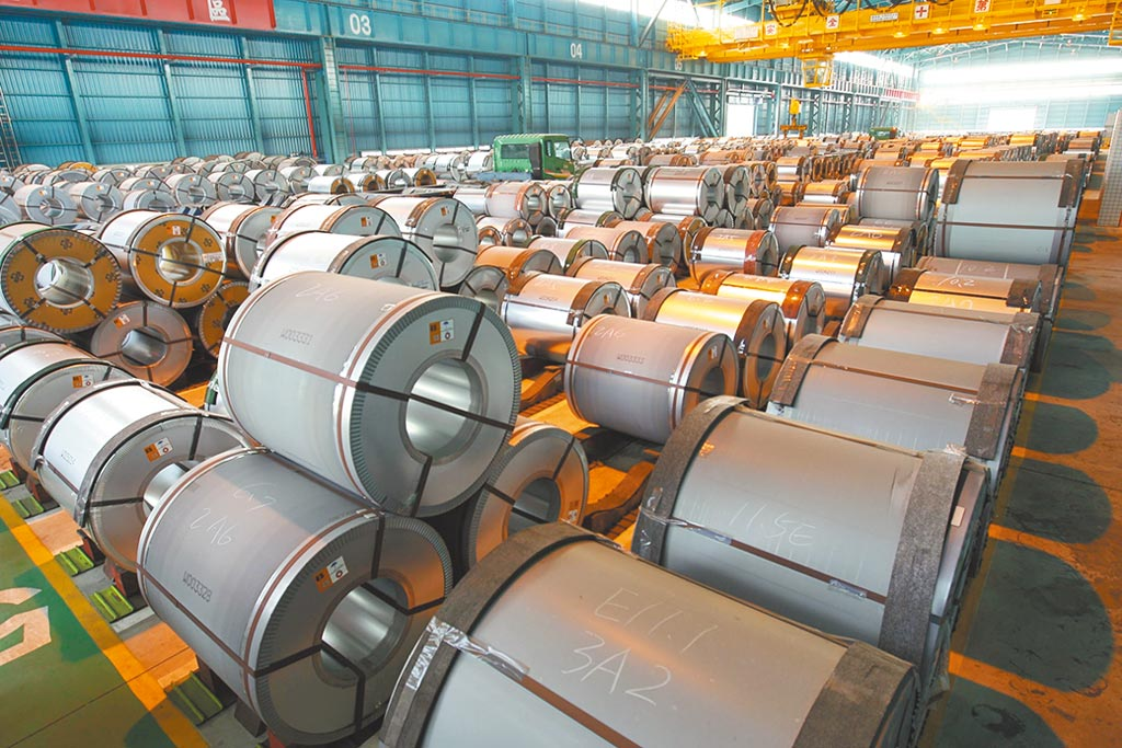 中鋼將協助穩定鋼價,貨暢其流,確保機械產業供料交期穩定,讓業者放心接單。圖/中鋼提供