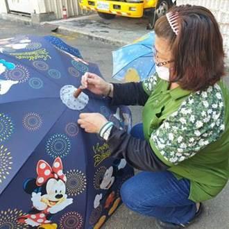 廢棄雨傘回收修復變愛心傘  中市沙鹿清潔隊讓資源永續