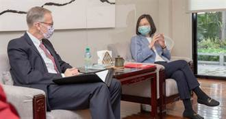 酈英傑談與台灣緣分 總統:有緣鬥陣 讓我們一再相聚