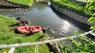 左營44歲男子摔落河道 送醫急救後不治