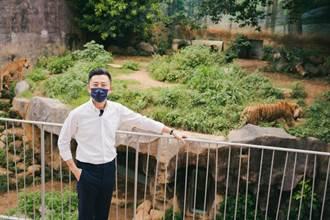 新竹市動物園解封大轉彎!市長直播行銷動物園 2個小時後髮夾彎不開了