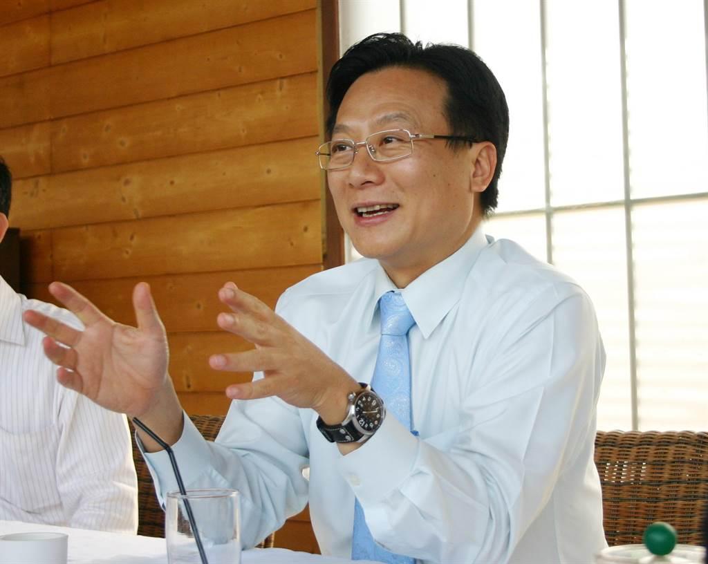 卓伯源决定参选国民党主席。 (本报资料照片/吴敏菁彰化传真)