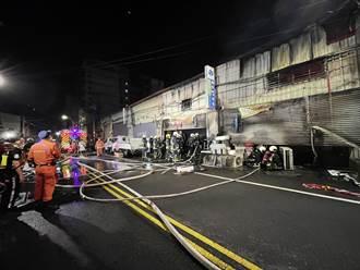 台中鐵皮工廠大火 延燒6廠房傳零星爆炸