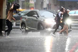 午後雷雨區炸西半部 今起一路轟到下周日