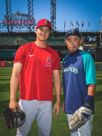 MLB》傳奇惺惺相惜 大谷翔平向鈴木一朗打招呼