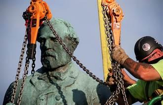 拆南北戰爭議雕像 維州市長:反種族主義向前走
