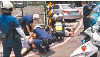 3秒求救速定位 警攔車救肉票