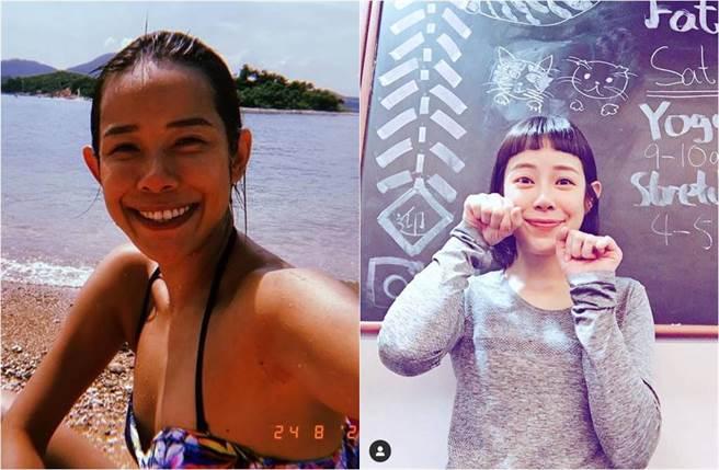 楊淇有一張娃娃臉和招牌短劉海,看不出她已36歲了。(圖/取材自楊淇Instagram)