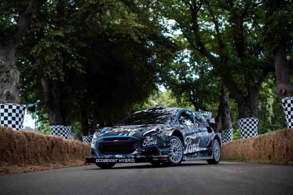 Ford與M-Sport合作推出新款Puma Rally1 WRC原型賽車