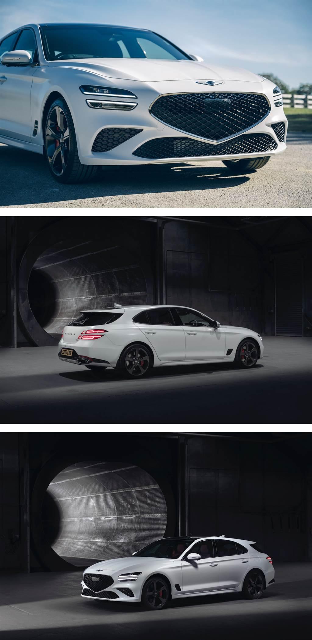 飛馳於歐洲汽車文化孕育地,GENESIS G70 Shooting Brake 於英國 Goodwood 全球首發