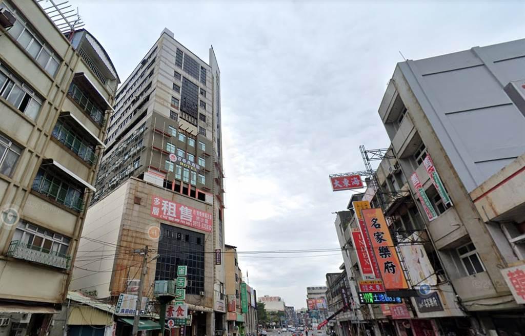 「喬友大廈」今年交易創彰化市近一年新高。(翻攝自Google街景)