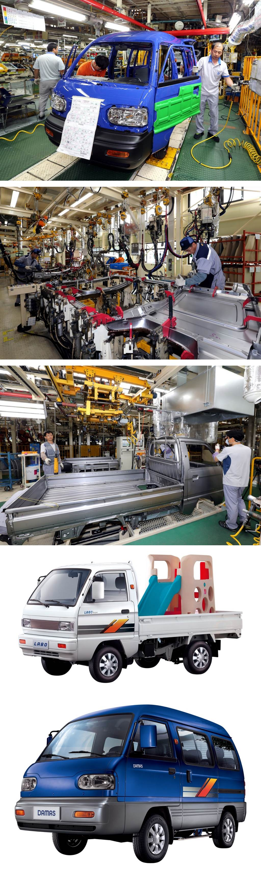 與 Daewoo 切得乾乾淨淨!GM Korea 正式停產韓國歷史最悠久的 Labo/Damas 輕型商用車