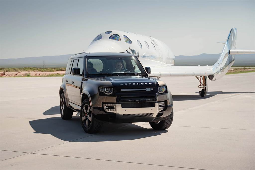 Land Rover支援Virgin Galactic人類史上首次民間太空旅行