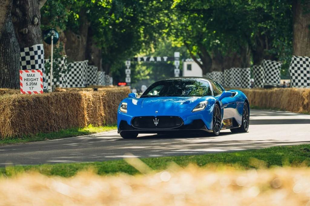 Maserati MC20首次亮相Goodwood Festival of Speed 2021